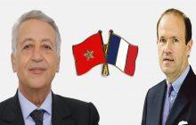 لقاء بين السيد ساجد وسفير فرنسا بالمغرب