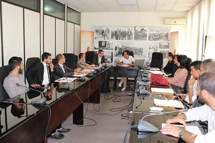 مديرية الحملات لحزب الاتحاد الدستوري تعقد اجتماعها بالمقر المركزي