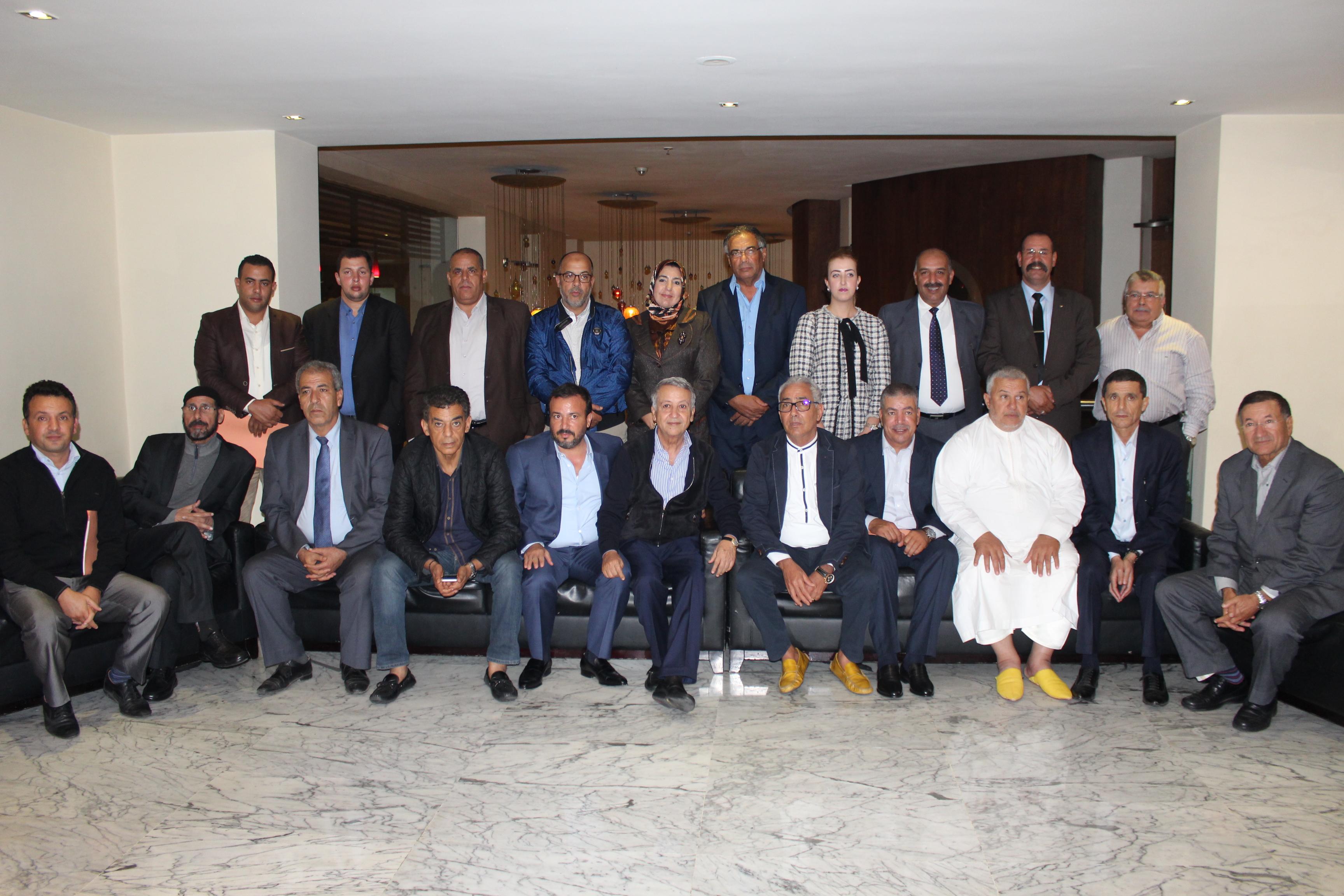 الدارالبيضاء.. السيد محمد ساجد يجتمع مع برلمانيي الحزب