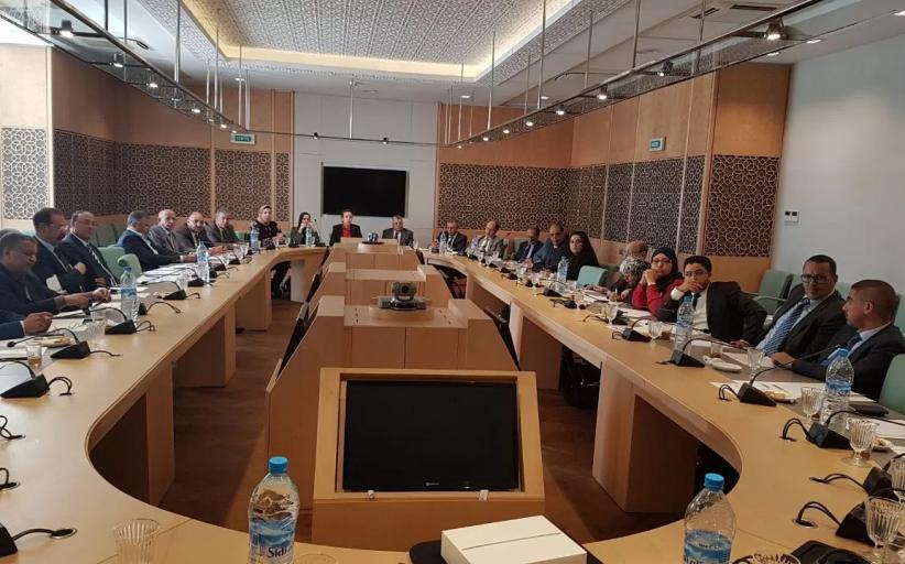 فريق التجمع الدستوري يعقد اجتماعه الاسبوعي