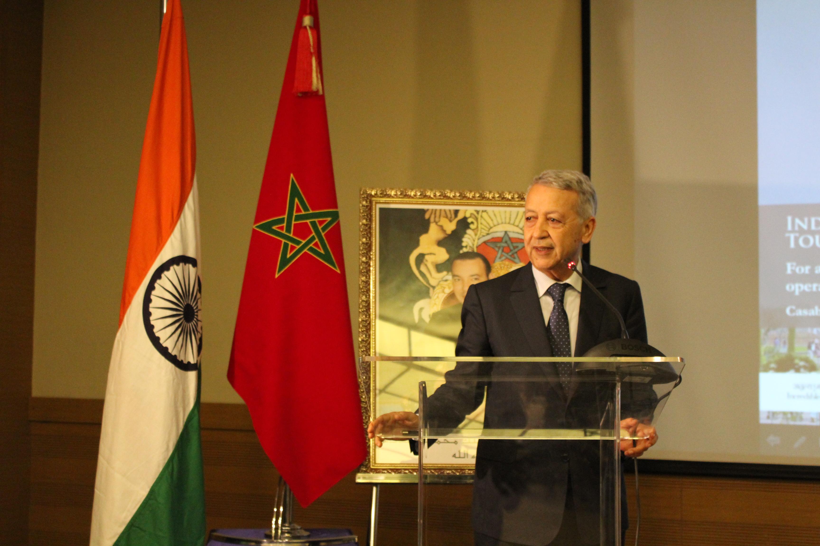 ساجد يستعرض أهمية المنتدى المغربي الهندي للتعاون السياحي في نسخته الأولى