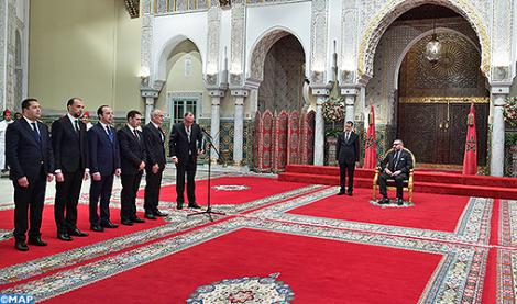 صاحب الجلالة الملك محمد السادس يعين الوزراء الجدد