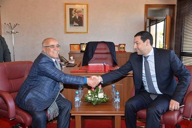 توقيع اتفاقية شراكة بين غرفة التجارة والصناعة والخدمات الدارالبيضاء سطات والمجلس الجماعي لمدينة برشيد.