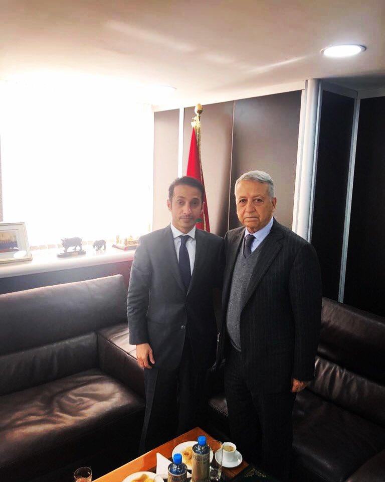 ساجد يشيد بالعلاقات الثنائية والتعاون المشترك بين المغرب والامارات