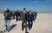 السيد ساجد يقوم بزيارة تفقدية لتتبع أشغال توسيع المحطة الجوية 1 بمطار محمد الخامس الدار البيضاء.