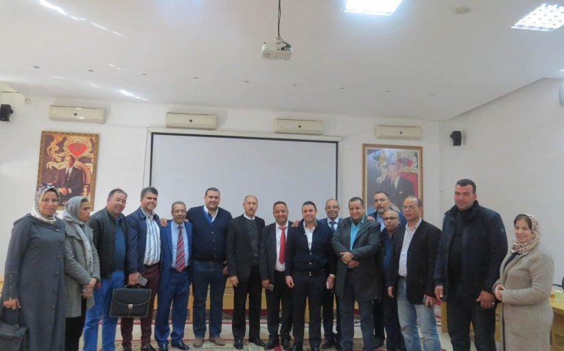 الاتحاد الدستوري يفوز برئاسة مجموعة الجماعات بني أحسن