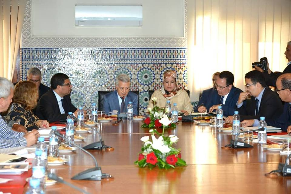 السيد ساجد يترأس أشغال المجلس الإداري لمكتب تنمية التعاون