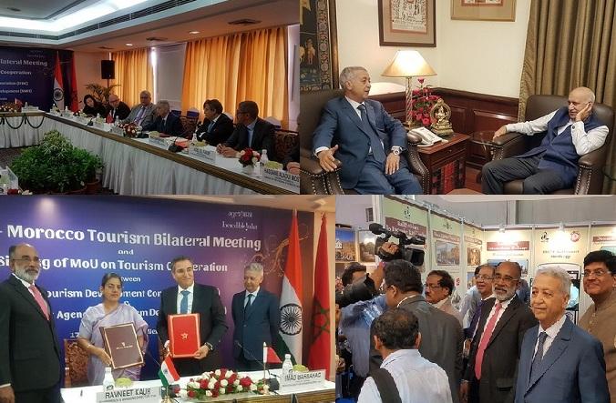 السيد ساجد يُجري سلسلة من اللقاءات والمباحثات بالعاصمة الهندية نيودلهي