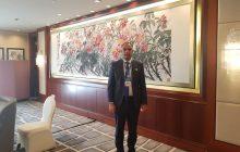"""الاخ الحرفي يشارك في مؤتمر """"حوار الحزب الصيني والأحزاب العربية """" في مدينة هانجتشو"""