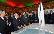 """جلالة الملك يترأس حفل الإطلاق الرسمي لأشغال بناء """"برج محمد السادس"""" رمز الإقلاع الاقتصادي لضفتي أبي راقراق"""