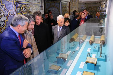 ساجد يفتتح متحف الروافد بدار الباشا في مراكش
