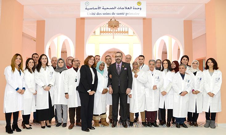 الملك محمد السادس يدشن مشروعين تضامنيين لتعزيز العرض الصحي في المدينة العتيقة لمراكش