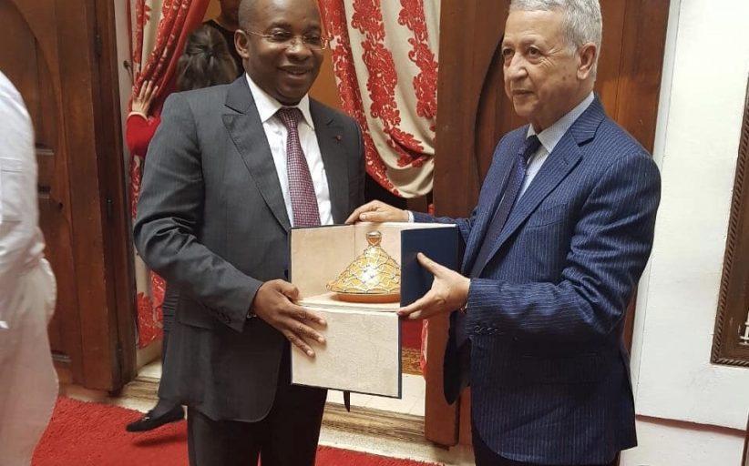 تعزيز التعاون الثنائي محور مباحثات ساجد مع وزير السياحة لساحل العاج