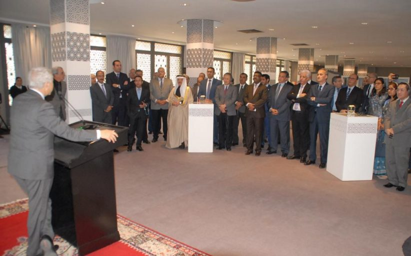 السيد ساجد يعقد لقاء تواصليا مع رؤساء البعثات الديبلوماسية لدول الشرق الأوسط وآسيا _  بـــــــــــلاغ صحـــــفي