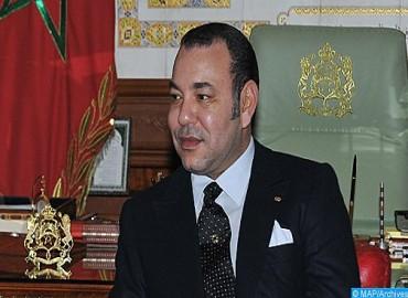 برقية ولاء وإخلاص إلى جلالة الملك من رئيس مجلس النواب بمناسبة اختتام أشغال الدورة الأولى من السنة التشريعية 2018-2019