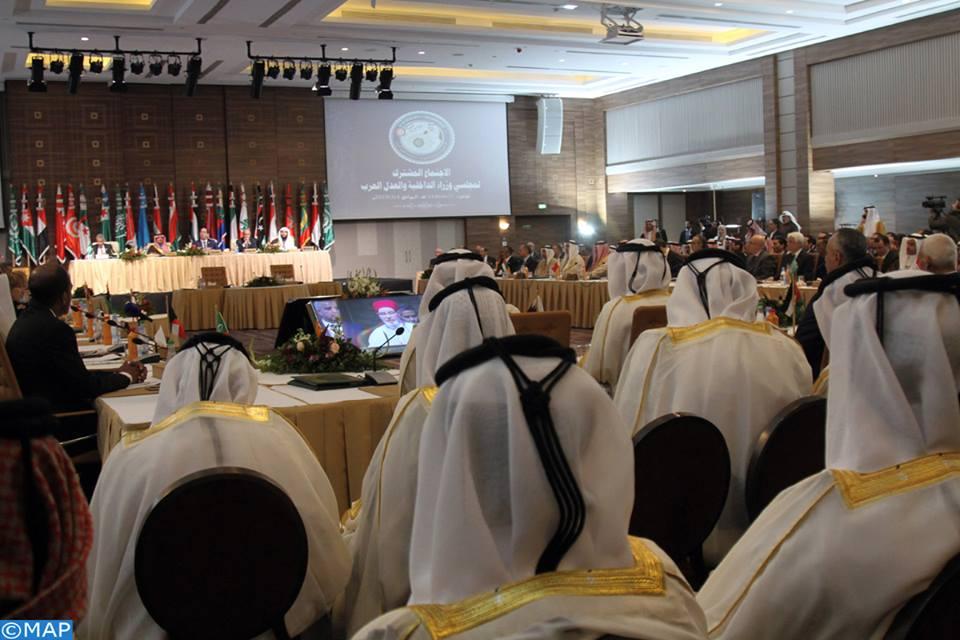 الاجتماع المشترك لمجلسي وزراء الداخلية والعدل العرب بتونس يتدارس تفعيل الاتفاقيات الأمنية والقضائية واستراتيجيات مكافحة الإرهاب