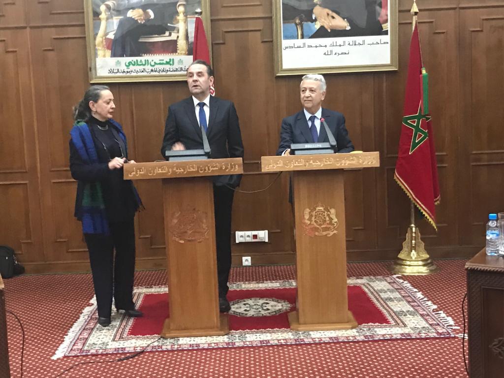 السيد ساجد يجري لقاء مع نائب الوزير الأول وزير التجارة و السياحة واتصالات جمهورية الصرب _بلاغ_