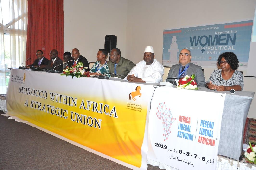 انتخاب السيد عبدالسلام نهران عضو المكتب السياسي لحزب الاتحاد الدستوري نائبا لرئيس الشبكة الليبرالية الافريقية.