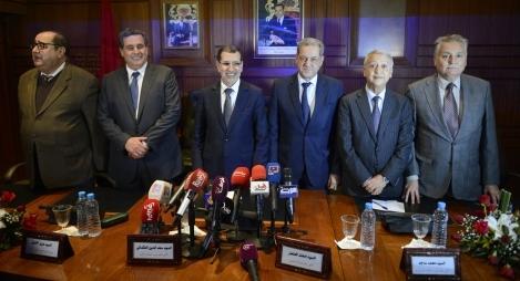 بلاغ هيئة رئاسة الأغلبية