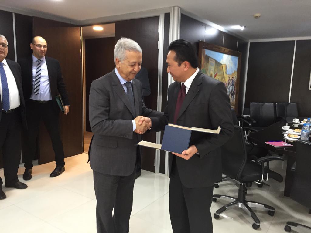 ساجد يستقبل القائم بالأعمال بسفارة اندونيسيا بالرباط