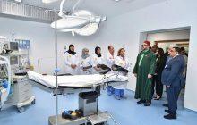 جلالة الملك يدشن بمقاطعة سيدي مومن مركزا طبيا للقرب -مؤسسة محمد الخامس للتضامن مخصص لتعزيز عرض العلاجات لفائدة الساكنة الهشة