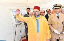 """جلالة الملك يعطي انطلاقة أشغال إنجاز """"مركز طبي للقرب -مؤسسة محمد الخامس للتضامن"""" بحي كريمة بسلا"""