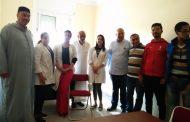 المقرالاقليمي لحزب الاتحاد الدستوري بعمالة مقاطعات عين السبع الحي المحمدي يحتضن النسخة الاولى من القافلة الطبية .