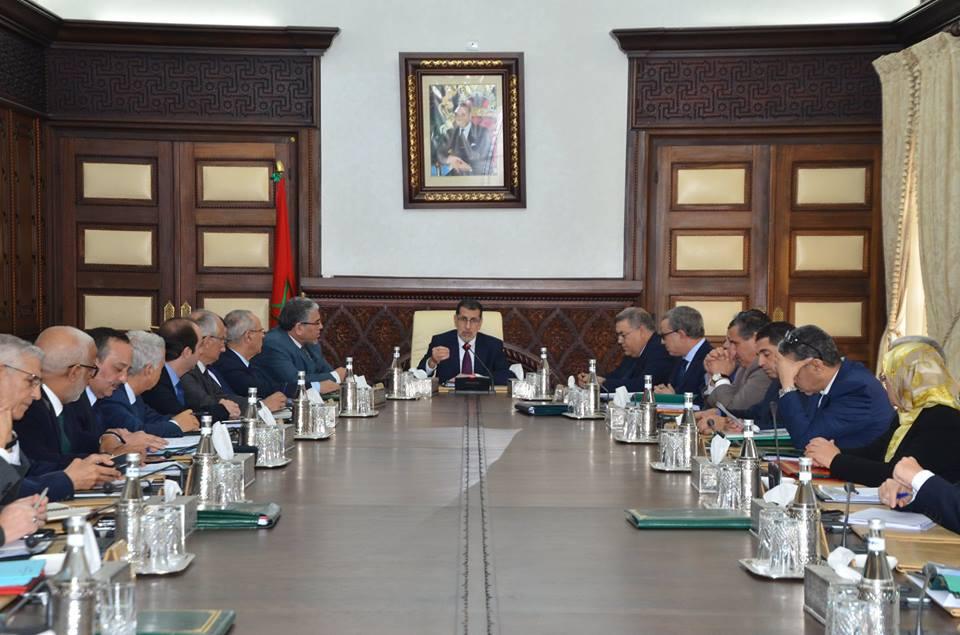 أشغال اجتماع مجلس الحكومة المنعقد يوم الخميس 04 يوليوز 2019