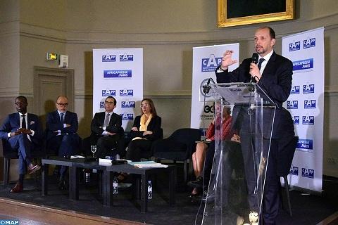لقاء رفيع المستوى بباريس يسلط الضوء على سياسة المغرب من اجل تحقيق نمو مشترك مع افريقيا