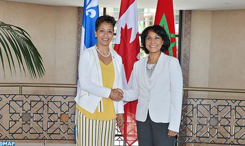 المغرب بوابة مثالية لإفريقيا (وزيرة كيبكية)