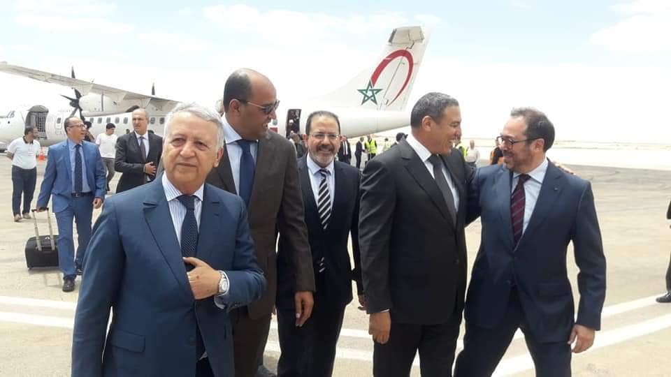 تدشين محطة جوية جهوية للخطوط الملكية المغربية بالعيون سيمكن من ربطها بست وجهات وطنية ودولية.