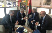 بحضور ساجد افتتاح المعرض الدولي للطيران والفضاء بمنطقة بورجيه الفرنسية