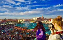 ارتفاع عدد السياح في المغرب.