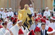 جلالة الملك يترأس حفل الولاء بساحة مشور القصر الملكي بمدينة تطوان