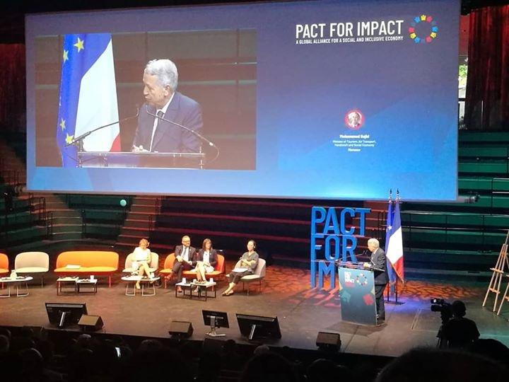 ساجد يؤكد خلال افتتاح فعاليات القمة العالمية Pact for Impact على ضرورة الابتكار عبر التفكير في نموذج للتنمية