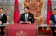 جلالة الملك يجدد التأكيد على التزام المغرب الصادق بنهج اليد الممدودة تجاه الجزائر