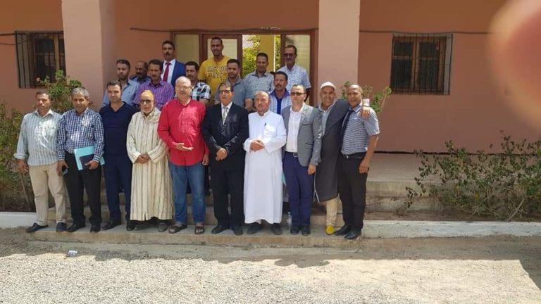 انتخاب السيد عيلا رئيسا لمؤسسة التعاون بين الجماعات بدائرة مجاط بالإجماع