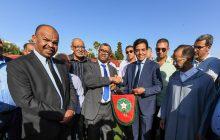 السيد محمد جودار يشرف على مراسيم تسليم ملعب مدينة مكناس