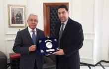 ياسر يستقبل رئيسي غرفة التجارة والصناعة لتونس العاصمة ومركز تونس