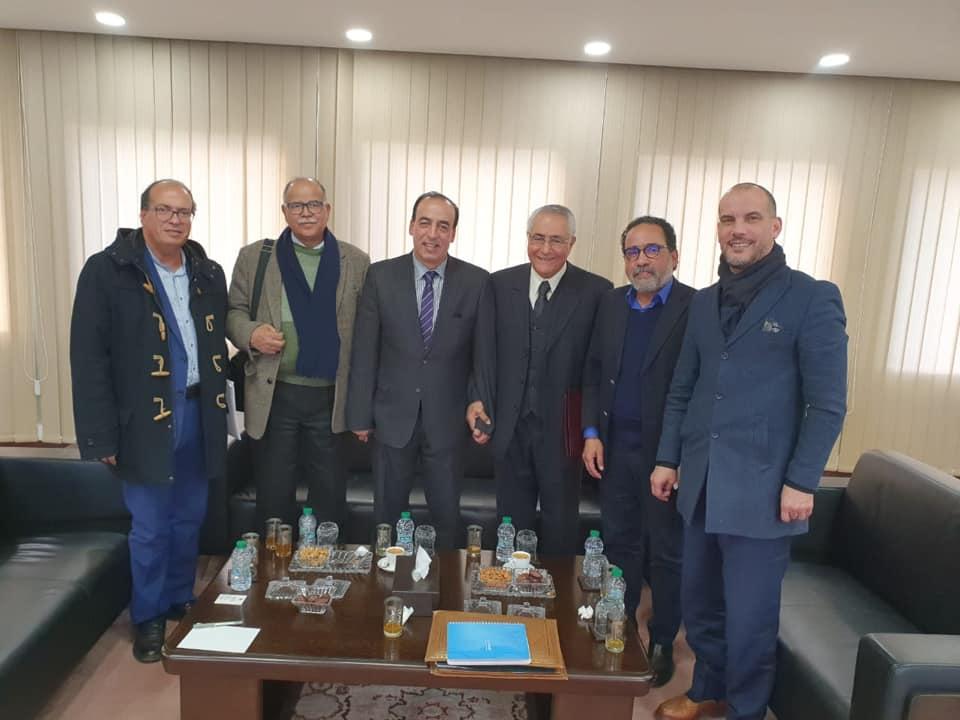 عبيابة يستقبل وفدا عن اللجنة التحضيرية للمؤتمر الاستثنائي لاتحاد كتاب المغرب