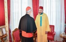 أمير المؤمنين يستقبل الكاردينال كريستوبال لوبيز روميرو أسقف الرباط