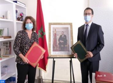 صاحبة السمو الأميرة للا زينب تترأس حفل توقيع اتفاقية شراكة بين وزارة الثقافة والشباب والرياضة والعصبة المغربية لحماية الطفولة