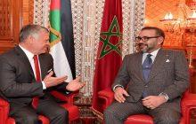جلالة الملك محمد السادس يتلقى اتصالا هاتفيا من الملك عبد الله