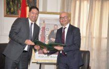 ياسر عادل يوقع اتفاقية شراكة مع مجموعة التجاري وفا بنك