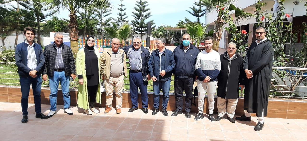 السيد محمد السعوتي يلتحق رسميا بالاتحاد الدستوري ويزكى وكيلا للائحة الحزب بدائرة المضيق الفنيدق