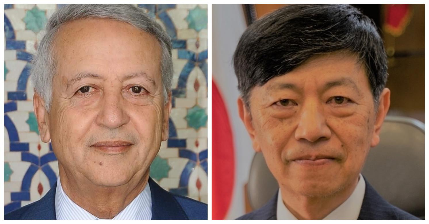 السفير الياباني يهنئ ساجد